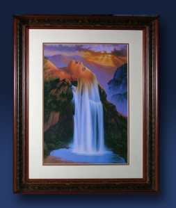 Natural Beauty litho framed 1.10